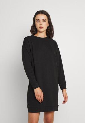 VIRUST O NECK DRESS - Denní šaty - black