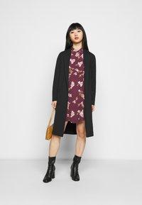 Vero Moda Petite - VMRIBINA DRESS - Shirt dress - fig - 1