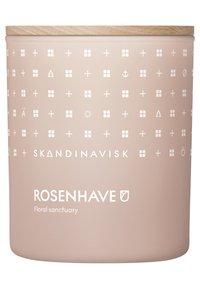 Skandinavisk - SCENTED CANDLE WITH LID - Duftkerze - rosenhave - 0