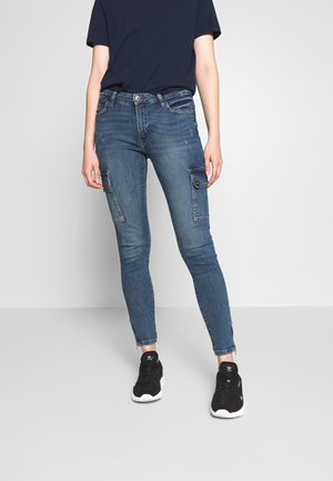 NMKIMMY POCKET - Jeans Skinny Fit - medium blue denim