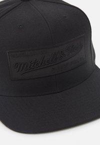 Mitchell & Ness - BRANDED BOX LOGO SNAPBACK - Cap - black - 2