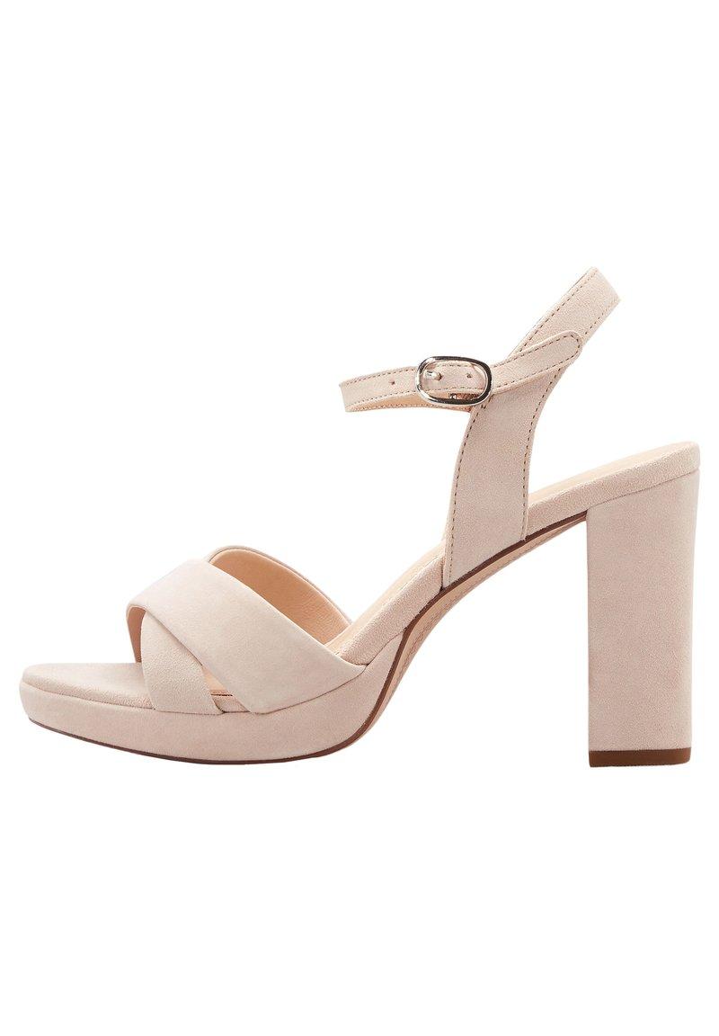 COX - High heeled sandals - beige