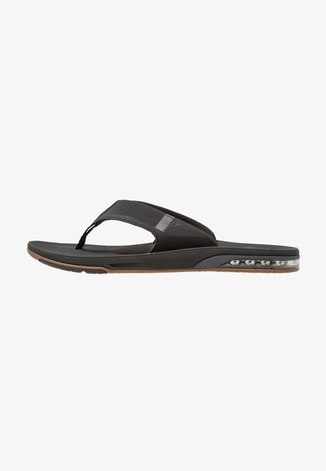 FANNING LOW - Flip Flops - black