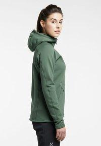 Haglöfs - BUNGY HOOD - Fleece jacket - fjell green - 2
