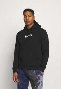 Nike Sportswear - COURT HOODIE - Mikina - black - 0