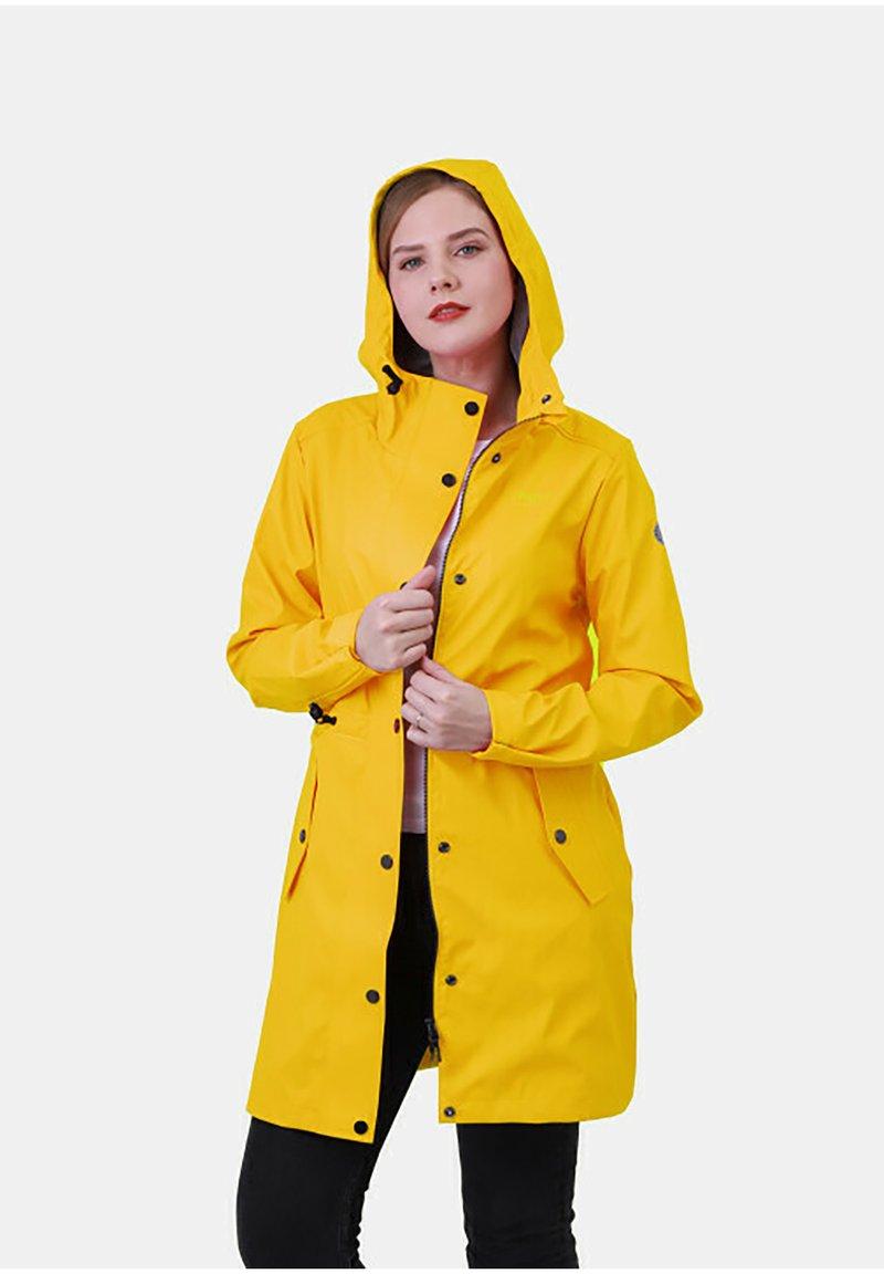 Dingy Rhythm Of The Rain - ALICE - Waterproof jacket - gelb