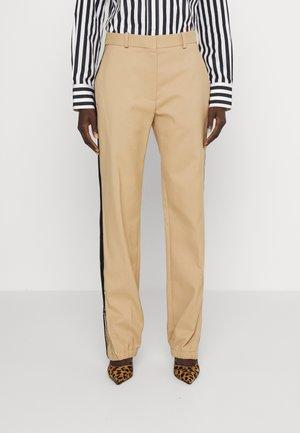 ZIP DETAIL TROUSER - Trousers - light beige