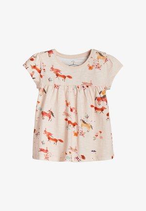 1 PACK - Print T-shirt - pink