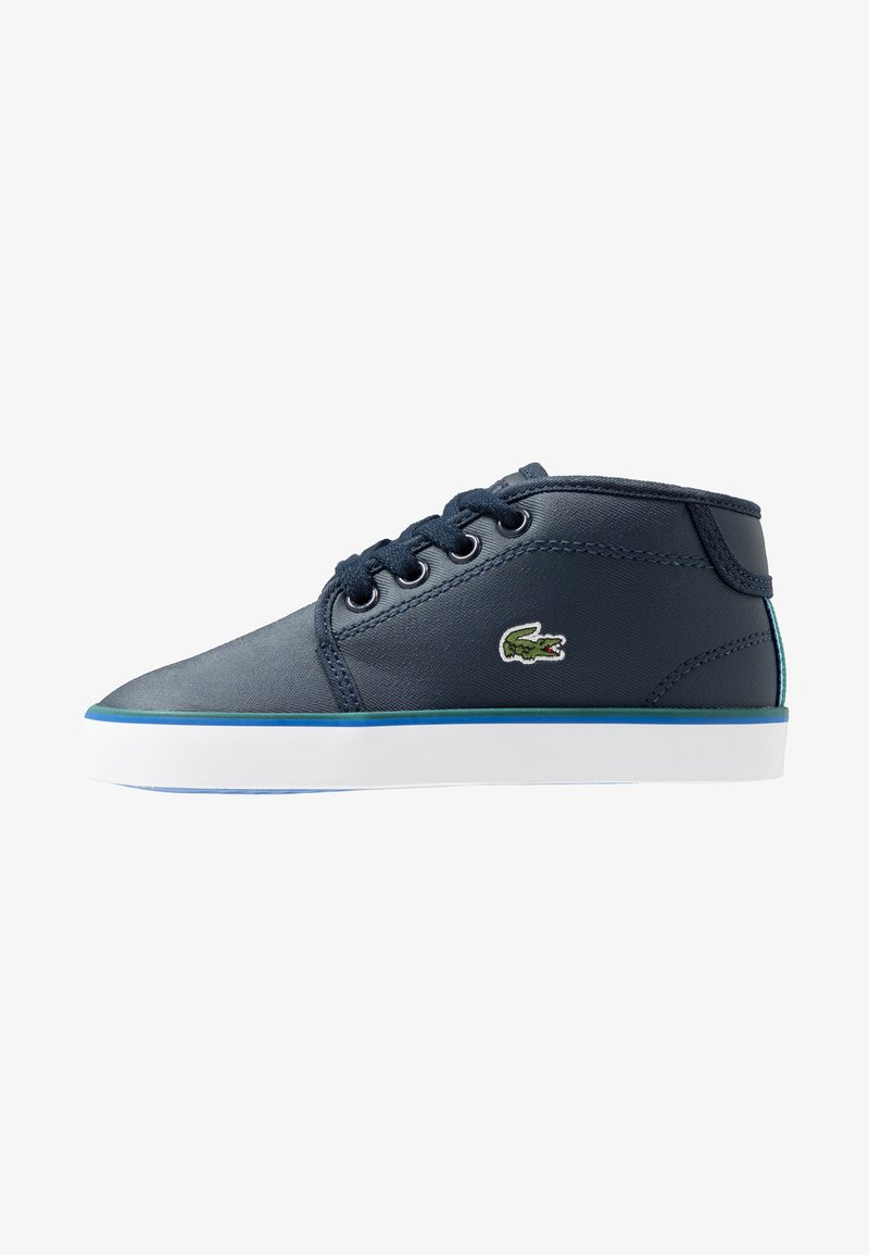 Lacoste - AMPTHILL  - Baby shoes - navy/green