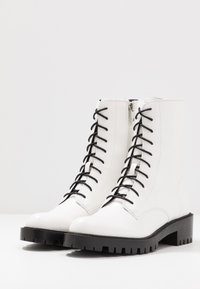 Who What Wear - LEXI - Platform ankle boots - prestine - 4