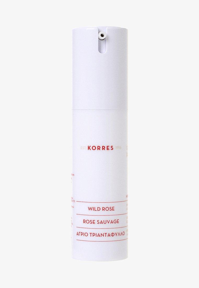 Korres - WILD ROSE DAY CREAM FOR OILY SKIN - Face cream - -