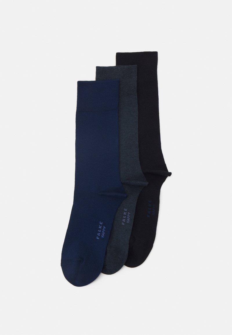 FALKE - HAPPYBOX 3 PACK - Socks - blue/dark blue
