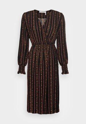 Robe longue - multicolor/black
