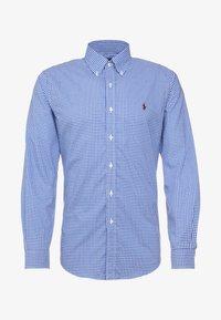 POPLIN SLIM FIT - Shirt - royal/white