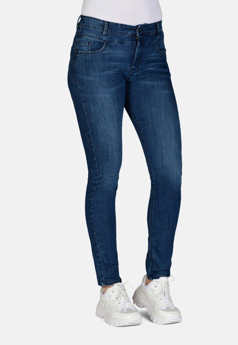 Cero & Etage - Slim fit jeans - medium blue w use