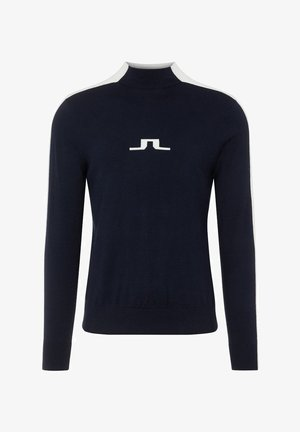 RUBEN - Stickad tröja - navy