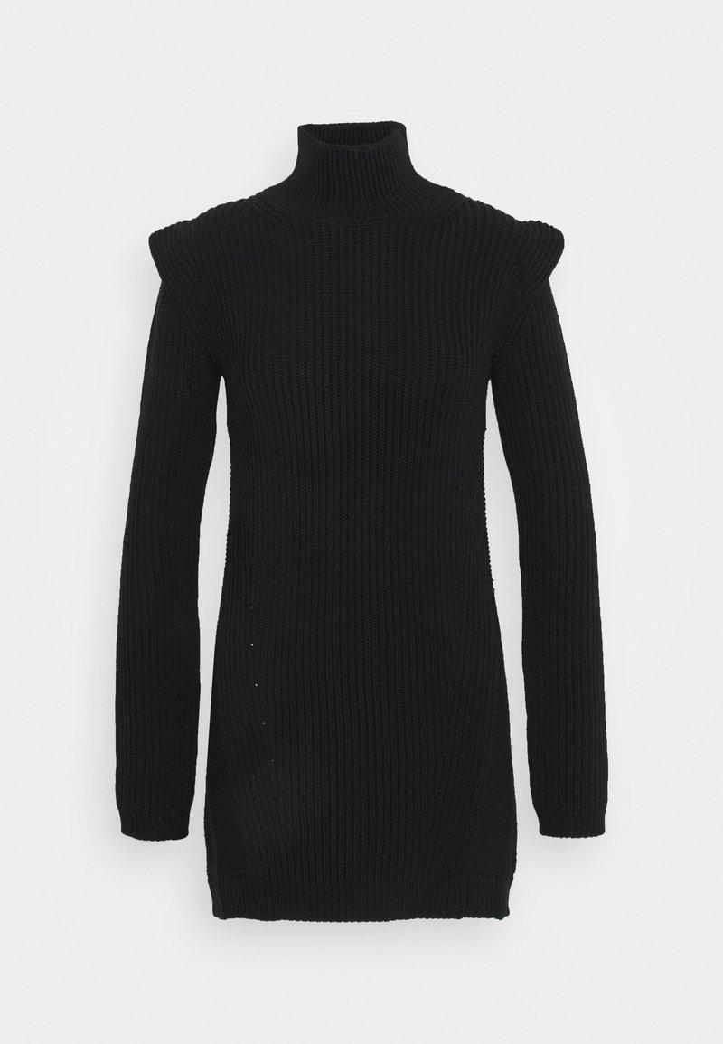 Dondup - Pletené šaty - black
