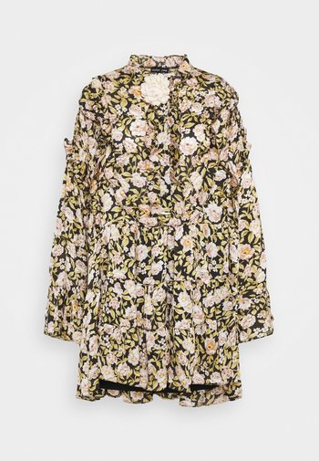 BELLE CORSAGE MINI DRESS - Shirt dress - multi