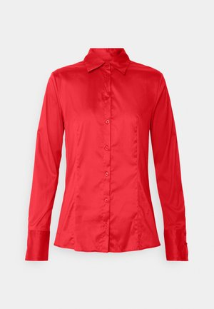 THE FITTED  - Button-down blouse - medium red