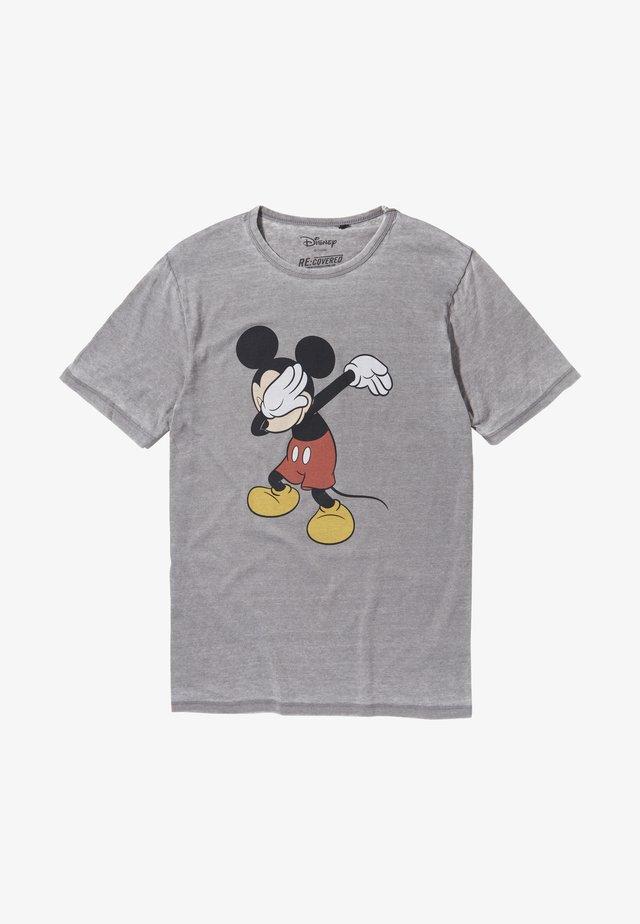 DISNEY MICKEY - T-shirt print - grau