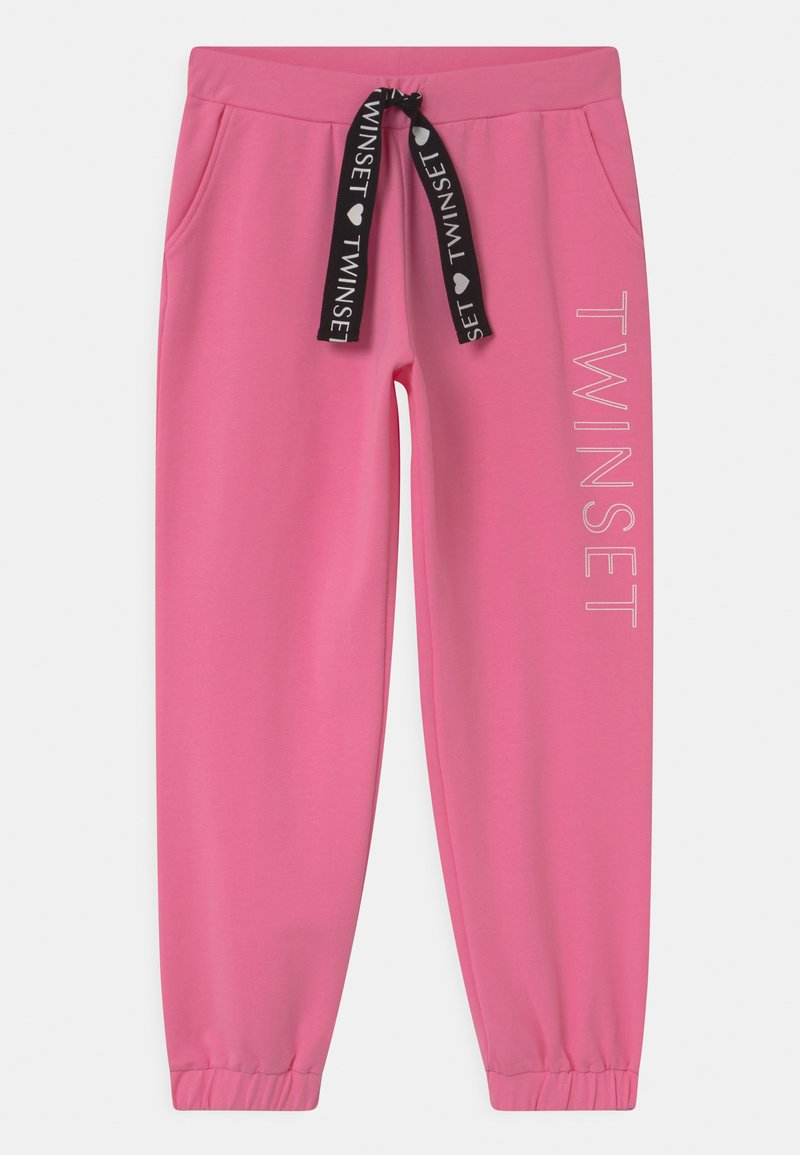 TWINSET - Tracksuit bottoms - rose bloom