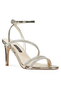 Nine West - High heeled sandals - gold - 1
