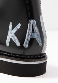 KARL LAGERFELD - BUCKLE SHOE MID - Ankle boots - black - 2