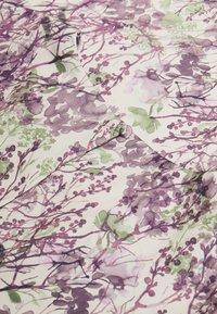 NA-KD - ZALANDO X NA-KD WIDE FLOWY SLEEVE MIDI DRESS - Kjole - purple - 5