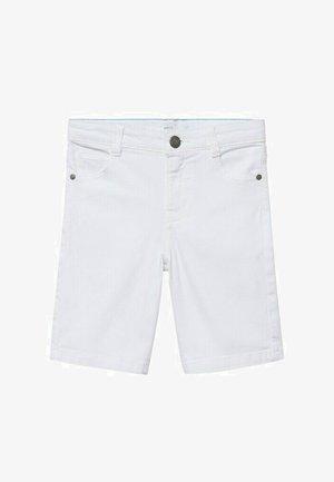 Denim shorts - wit