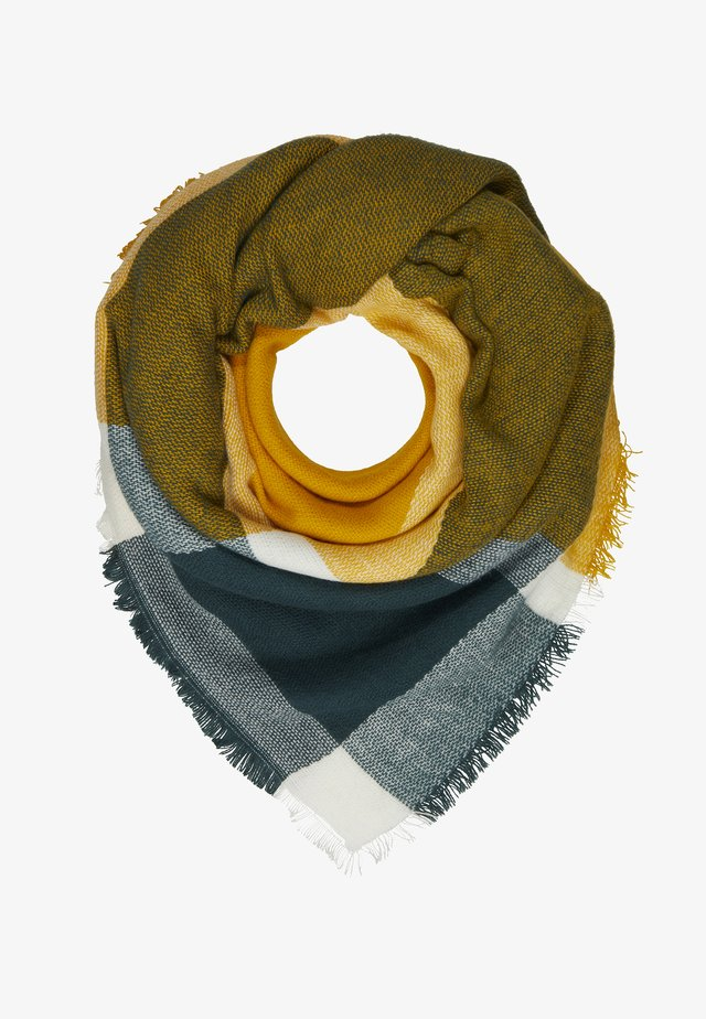 Sjaal - mustard