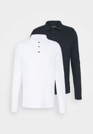 2 PACK - Polo - navy/ white