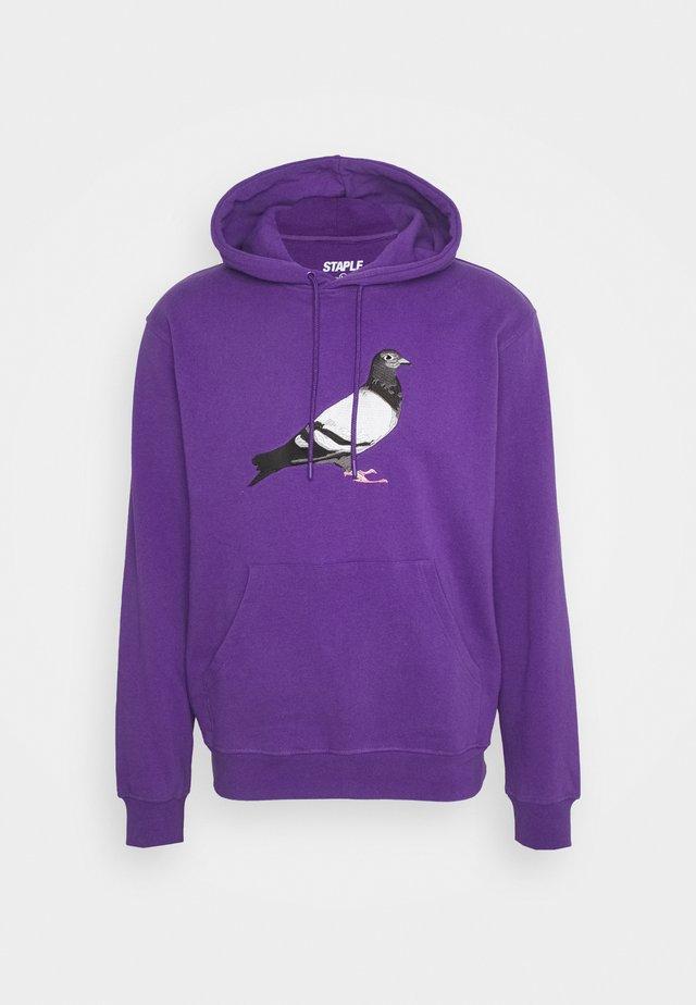 LOGO HOODIE UNISEX  - Huppari - purple