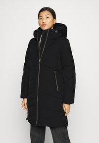 Calvin Klein - ELEVATED LONG LENGTH JACKET - Winter coat - black - 0