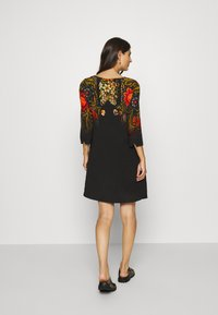 Desigual - VEST BUTTERFLOWER DESIGNED BY MR CHRISTIAN LACROIX - Freizeitkleid - black - 2