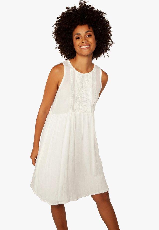CHARITY - Korte jurk - off-white
