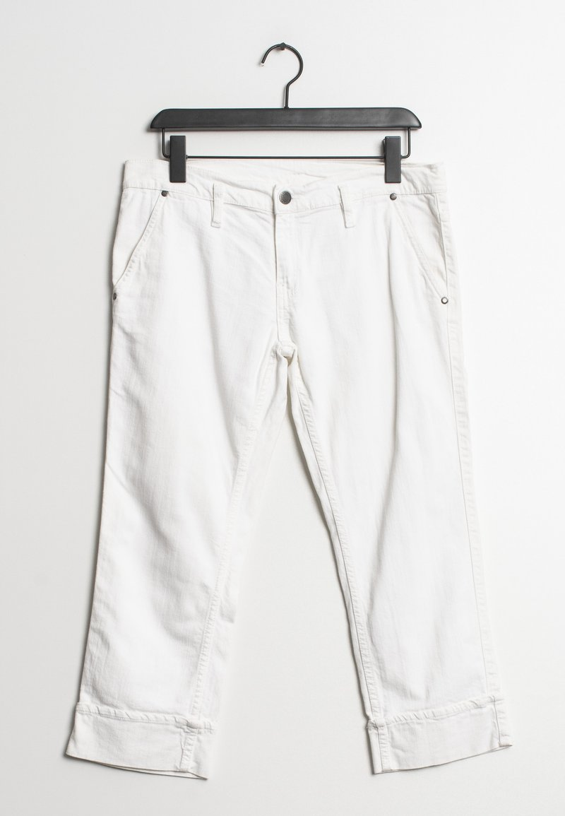 Trussardi Jeans - Relaxed fit jeans - white