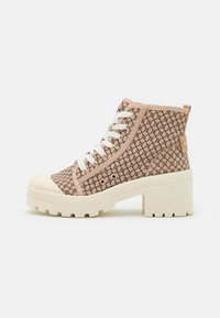 River Island - Lace-up ankle boots - beige - 1