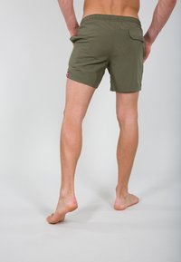 Alpha Industries - Swimming shorts - dark olive - 2