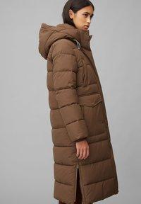 Marc O'Polo DENIM - ARCTIC EXPEDITION PUFFER COAT LONG - Winter coat - fantastic brown - 3