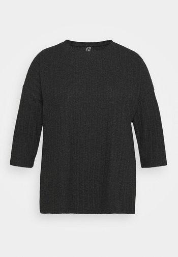 VMTILDA 3/4 LOOSE  - Long sleeved top - dark grey melange