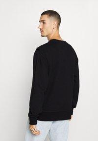 Topman - WAVE - Sweatshirt - black - 2