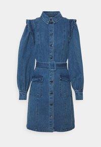 BROOMRAP ZARAH DRESS - Denim dress - denim