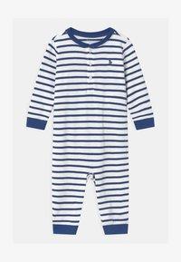 Polo Ralph Lauren - STRIPE ONE PIECE - Combinaison - blue - 0