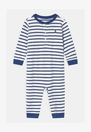 STRIPE ONE PIECE - Jumpsuit - blue