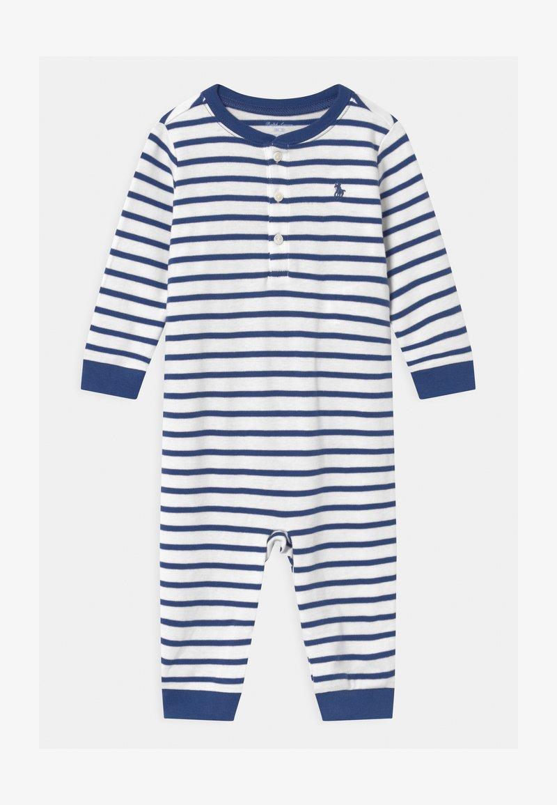 Polo Ralph Lauren - STRIPE ONE PIECE - Combinaison - blue