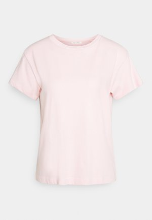 SHORT SLEEVE ROUND NECK - T-shirts - rose cream