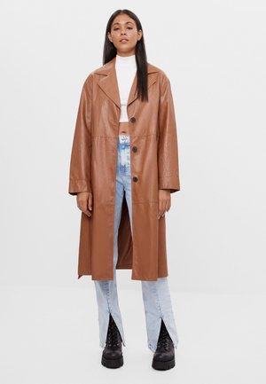 Wollmantel/klassischer Mantel - beige