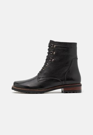 TIFANNY - Lace-up ankle boots - black