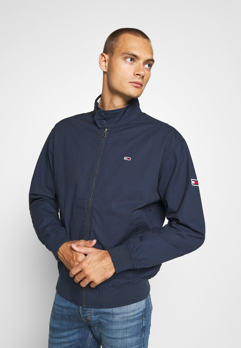 Tommy Jeans - CUFFED JACKET - Summer jacket - twilight navy