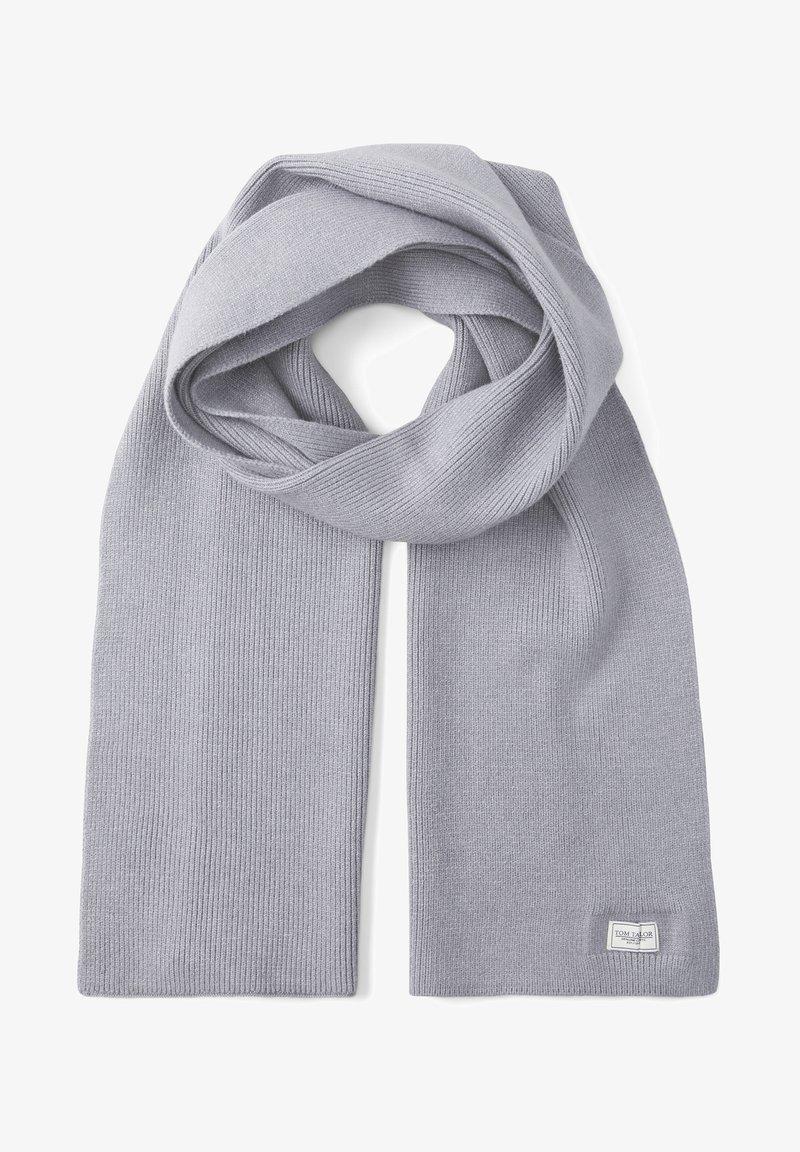 TOM TAILOR - Scarf - knit grey melange